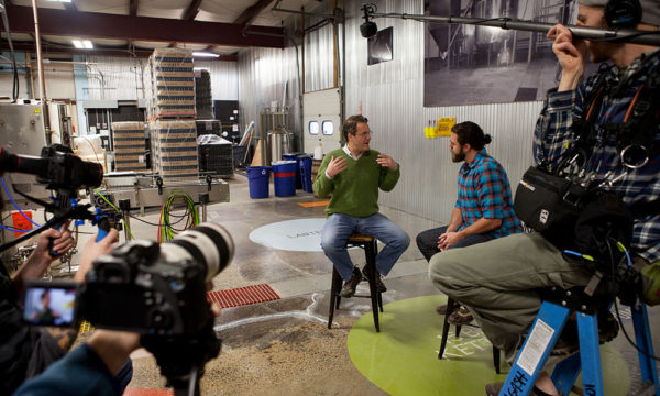 Allagash Brewing Video Shoot - Portland, Maine