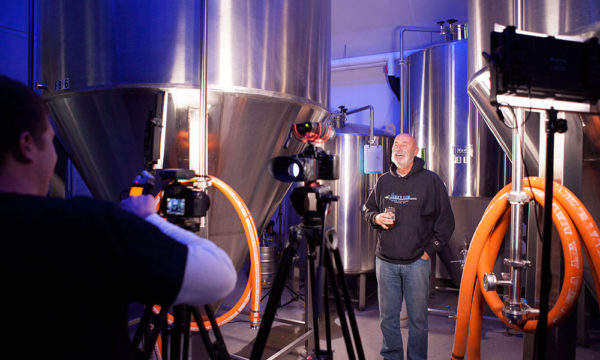 Funky Bow Brewing Video Shoot - Lyman, Maine