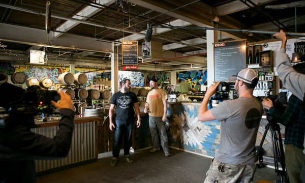 Oxbow Brewing Video Shoot - Portland, Maine
